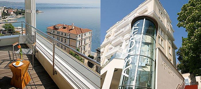 3 tage kurzreise design hotel astoria 4 urlaub am meer for Kroatien designhotel