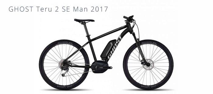 e bike ghost teru 2 se man 2017 elektromountainbike. Black Bedroom Furniture Sets. Home Design Ideas